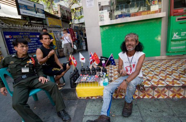 Zdj�cia: Bangkok KHAO SAN ROAD , Fotka 8, TAJLANDIA