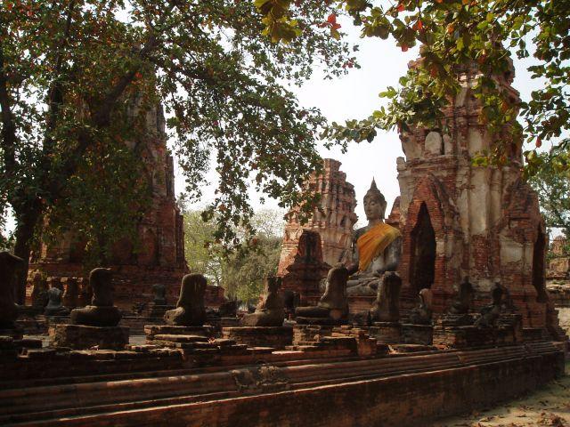 Zdjęcia: Ajutthaja, Ajutthaja, Budda 2, TAJLANDIA
