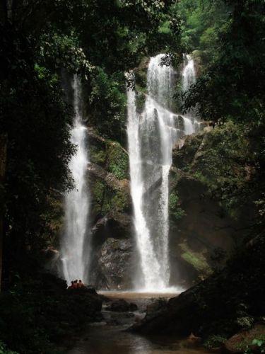 Zdjęcia: Płn. Tajlandia, wodospad, TAJLANDIA