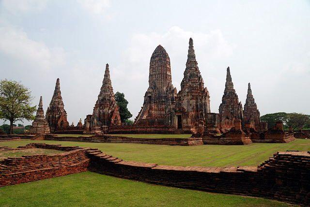 Zdjęcia: Ayutthaya, Ayutthaya, Wat Chai Wattanaram, TAJLANDIA