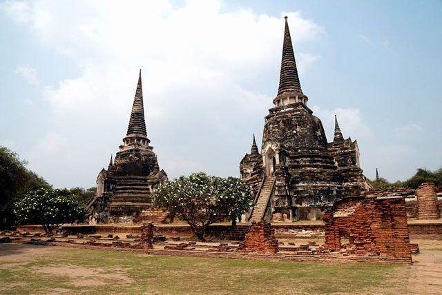 Zdjęcia: Ayutthaya, Ayutthaya, Wat Phra Si Sanphet, TAJLANDIA