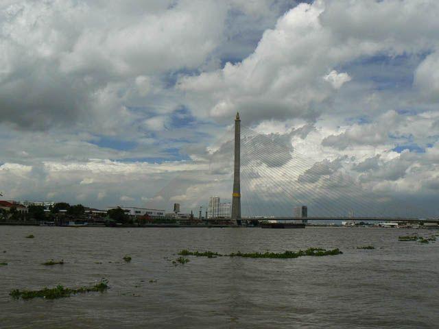 Zdjęcia: BKK, cloudy river, TAJLANDIA