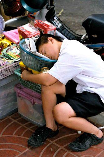 Zdjęcia: bangkok, po ciężkiej pracy, TAJLANDIA