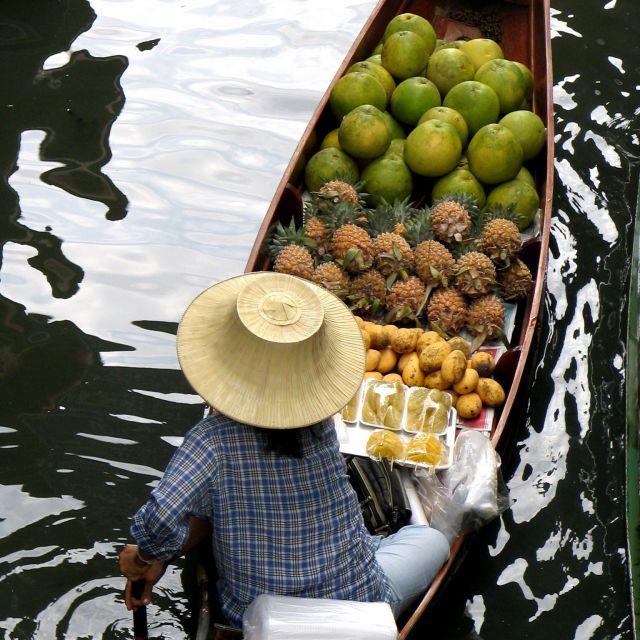 Zdjęcia: BKK, środek, pływajacy targ, TAJLANDIA