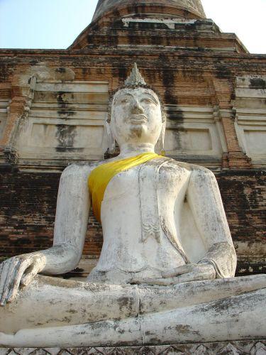 Zdjęcia: dawna stolica Tajlandii, Kolejny Budda, TAJLANDIA
