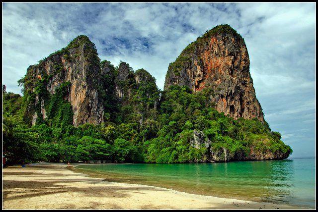 Zdjęcia: RAILAY BEACH, KRABI, SŁONECZNY PORANEK, TAJLANDIA