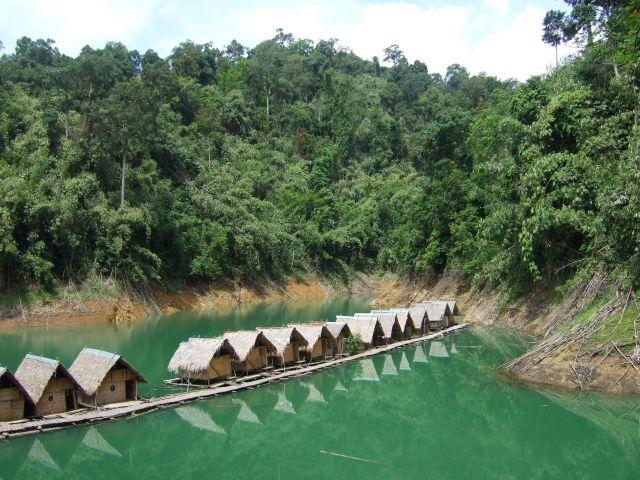 Zdjęcia: nad jeziorem, khao sok, tajlandia, TAJLANDIA