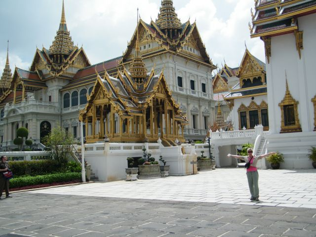 Zdjęcia: Bangkok, Tak pomszkuje krol Tajlandii, TAJLANDIA