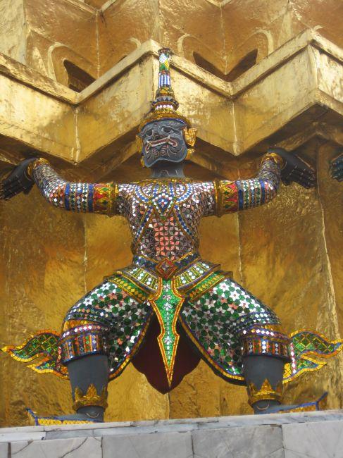 Zdjęcia: Grand Palace, Bankgok, Tajski Stworek, TAJLANDIA