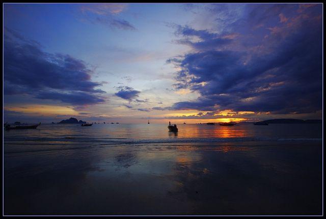 Zdjęcia: Ao Nang, Krabi, Koniec dnia w Ao Nang, TAJLANDIA