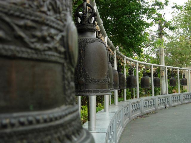 Zdjęcia: Bangkok, Złota Góra, Komu bije dzwon..., TAJLANDIA