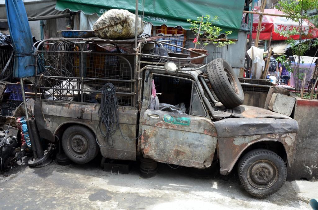 Zdjęcia: Bangkok, BKK, Pan samochodzik, TAJLANDIA