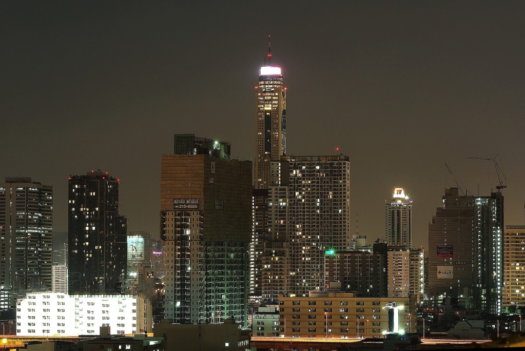 Zdjęcia: Bangkok, Bangkok, Bangkok nocą, TAJLANDIA