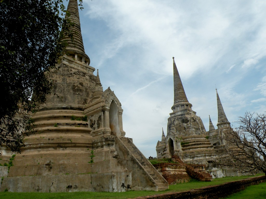 Zdjęcia: Ayutthaya, Ayutthaya, Wat Si Sanphet, TAJLANDIA