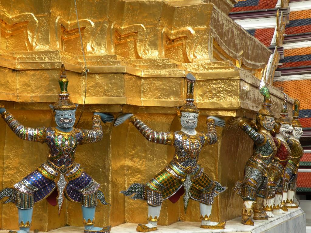 Zdjęcia: Wielki Pałac Królewski, Bangkok, Komplek pałącowy 2, TAJLANDIA