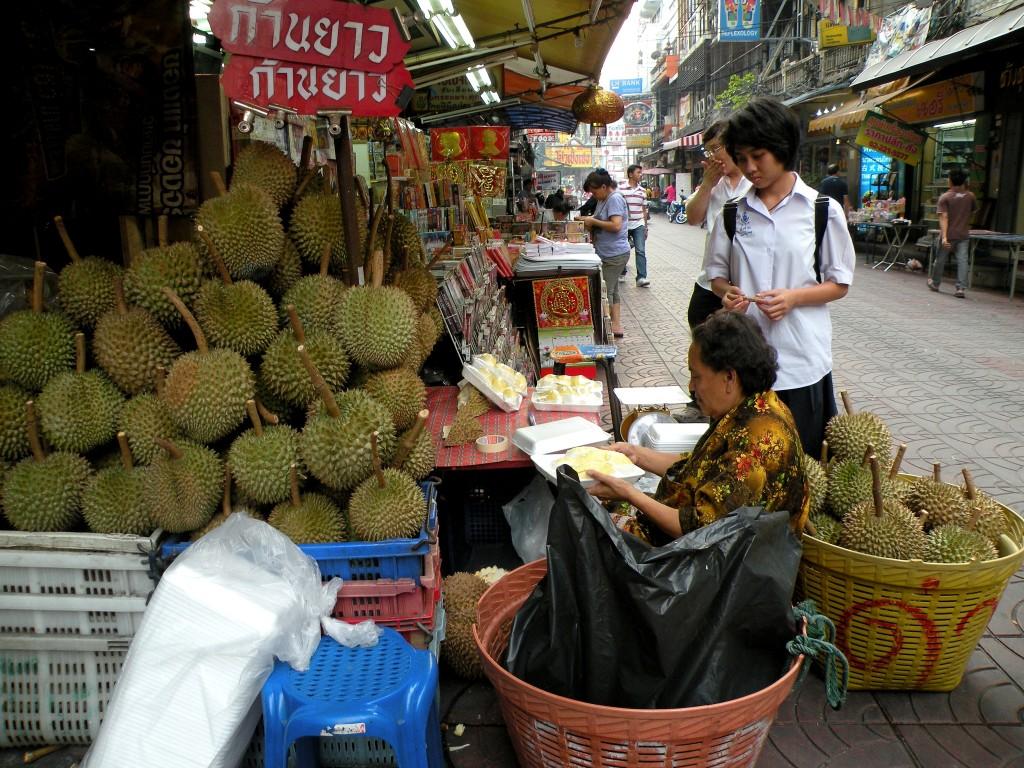 Zdjęcia: Chińska dzielnica, Bangkok, Duriana poproszę ;), TAJLANDIA