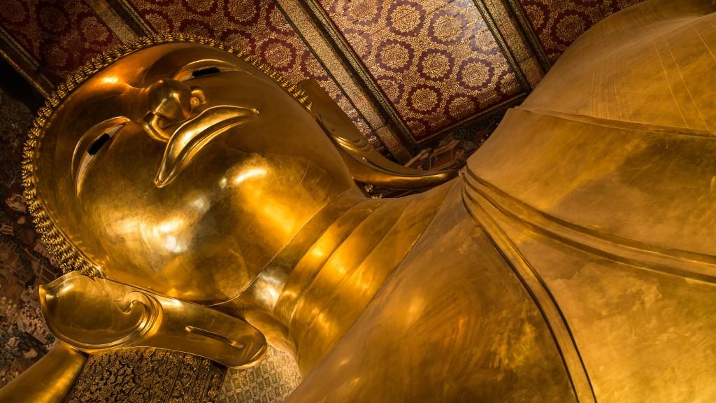 Zdjęcia: Wat Po, Bangkok, Spoczywający Budda, TAJLANDIA
