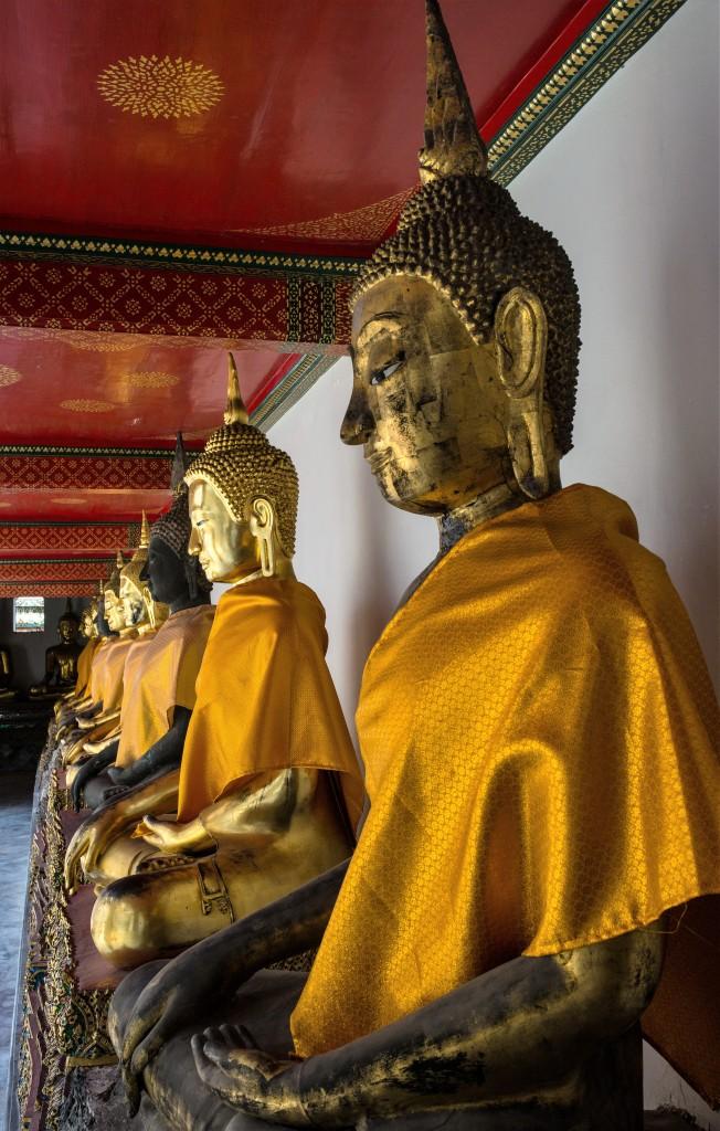 Zdjęcia: Wat Po, Bangkok, Budda, budda i budda, TAJLANDIA