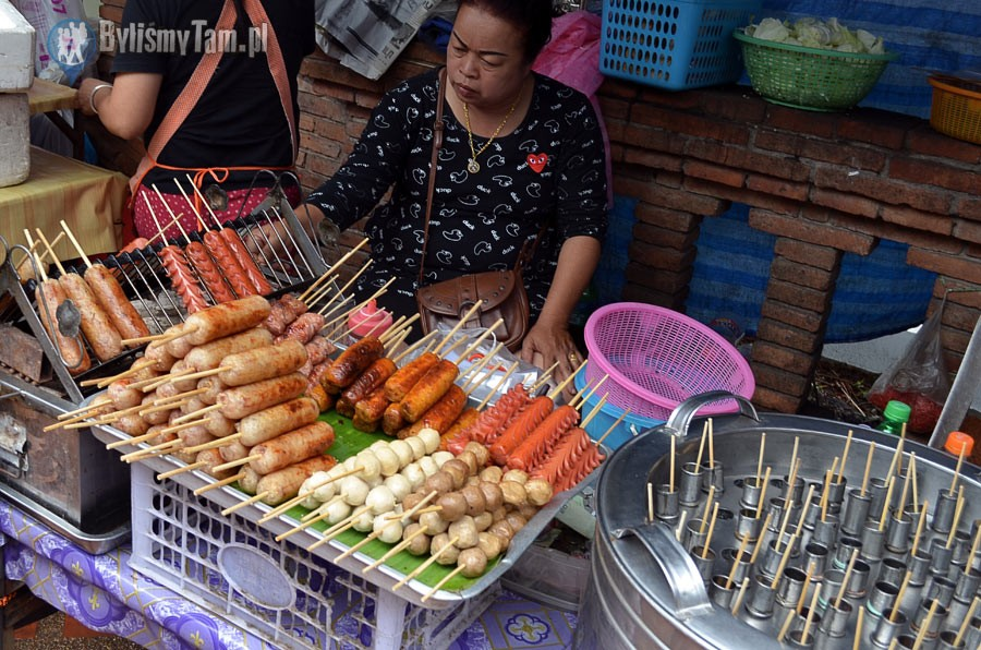 Zdjęcia: Chiang Mai, Chiang Mai, jedzenie znajdziesz wszędzie, TAJLANDIA
