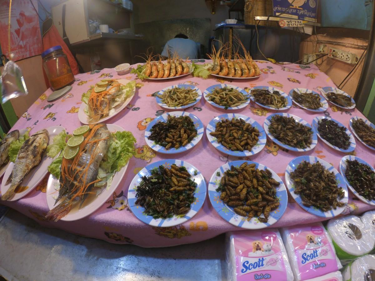 Zdjęcia: Chiang Rai, Północna Tajlandia, Robaki na kolację, TAJLANDIA