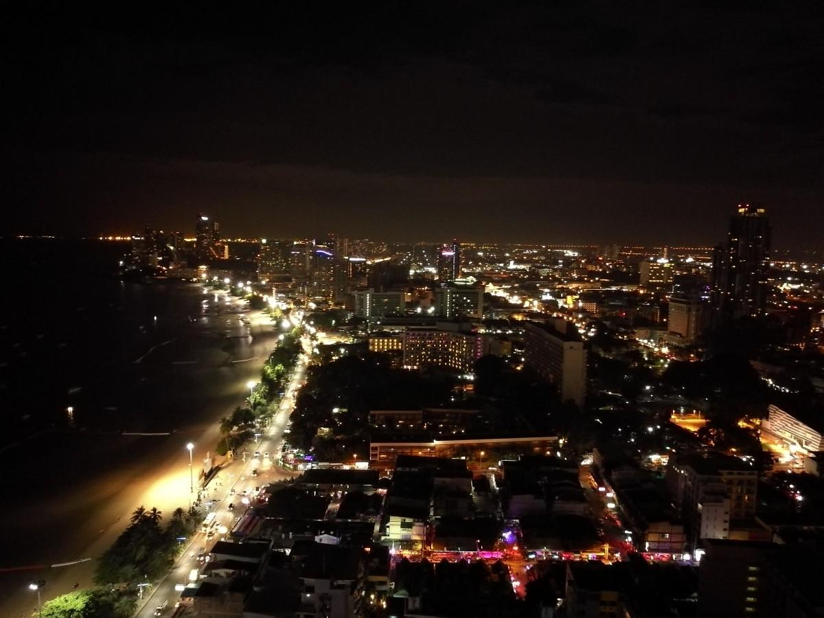 Zdjęcia: Pattaya, Wschodnie wybrzeże, Pattaya nocą, TAJLANDIA