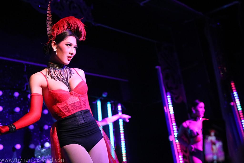 Zdjęcia: Chaing Mai, Chaing Mai, W kabarecie ladyboyów, TAJLANDIA