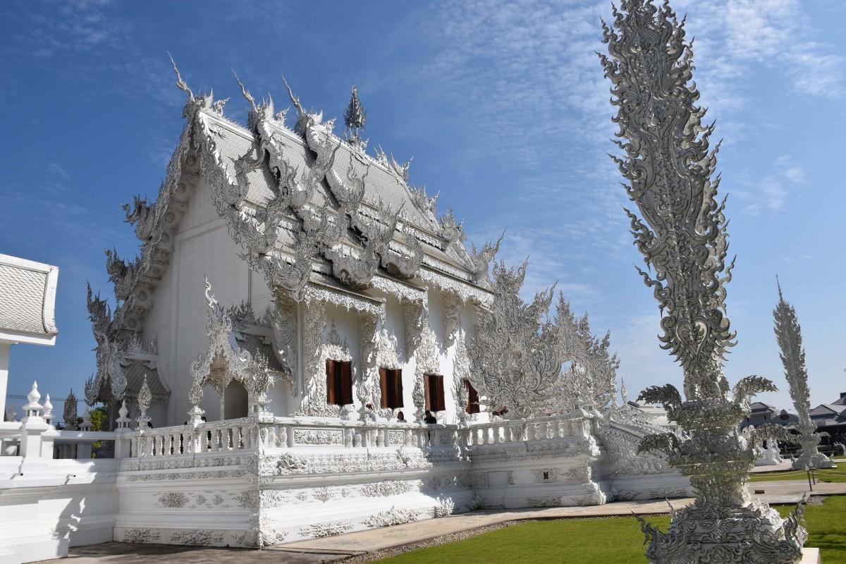 Zdjęcia: San Sai, Chiang Rai, Świątynia Rong Khun, TAJLANDIA