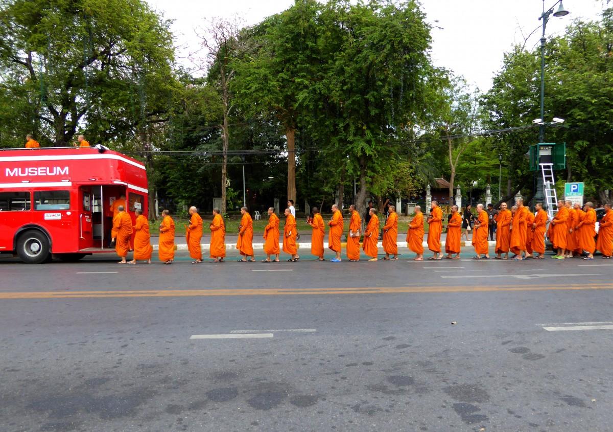 Zdjęcia: Bangkok, Muzeum mnichów, TAJLANDIA