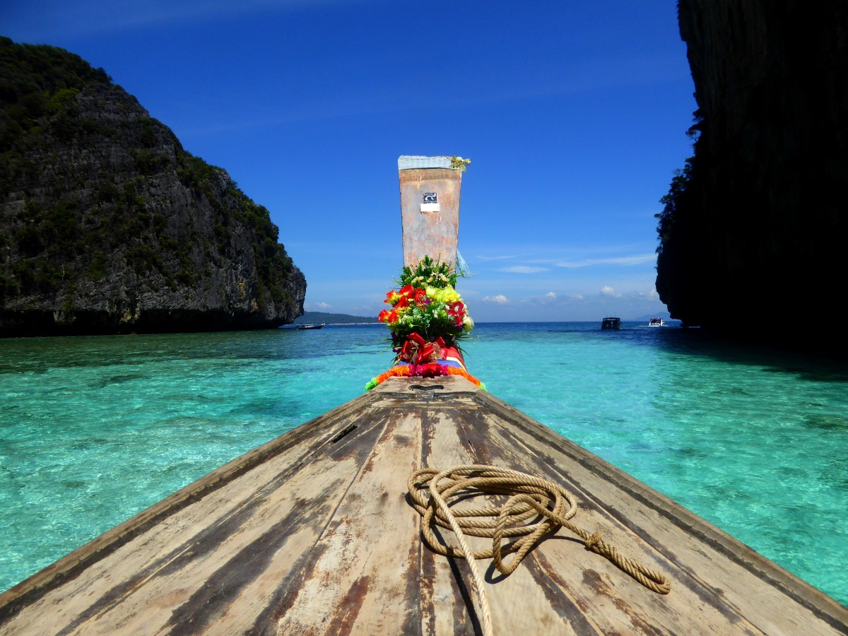 Zdjęcia: Ko Phi Phi, Krabi, Lazurowy rejs, TAJLANDIA