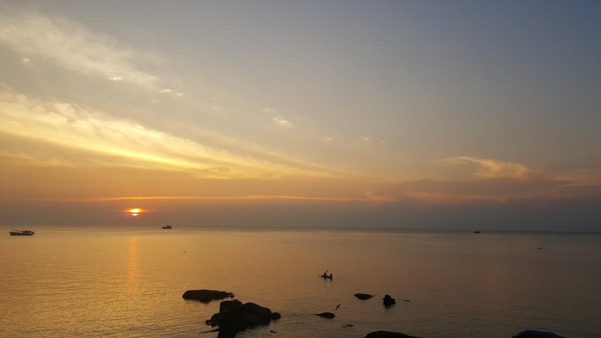 Zdjęcia: Wyspa Kho Tao, Tajski zachód słońca, TAJLANDIA