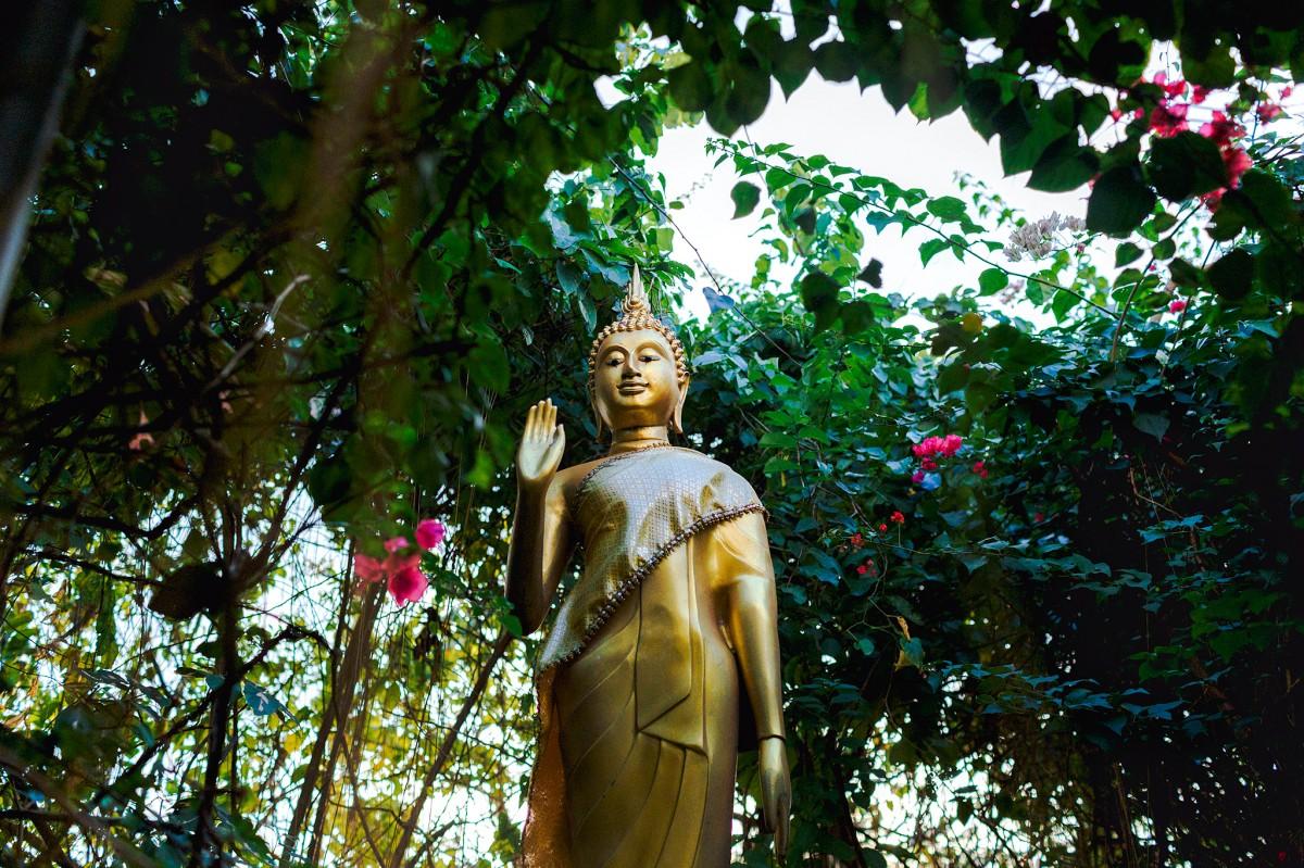 Zdjęcia: Bangkok, Wat Saket, TAJLANDIA