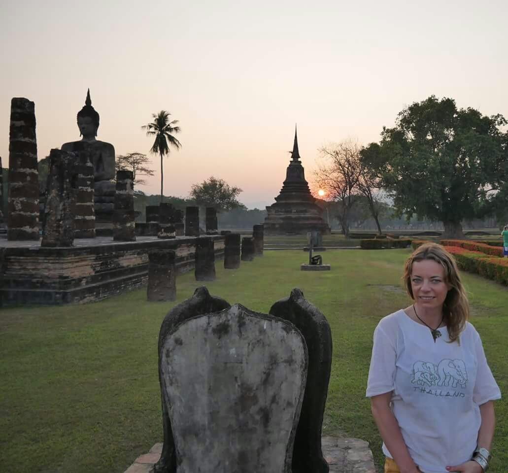Zdjęcia: Sukhothai , Zachód słońca w cudownym miejscu 😍, TAJLANDIA