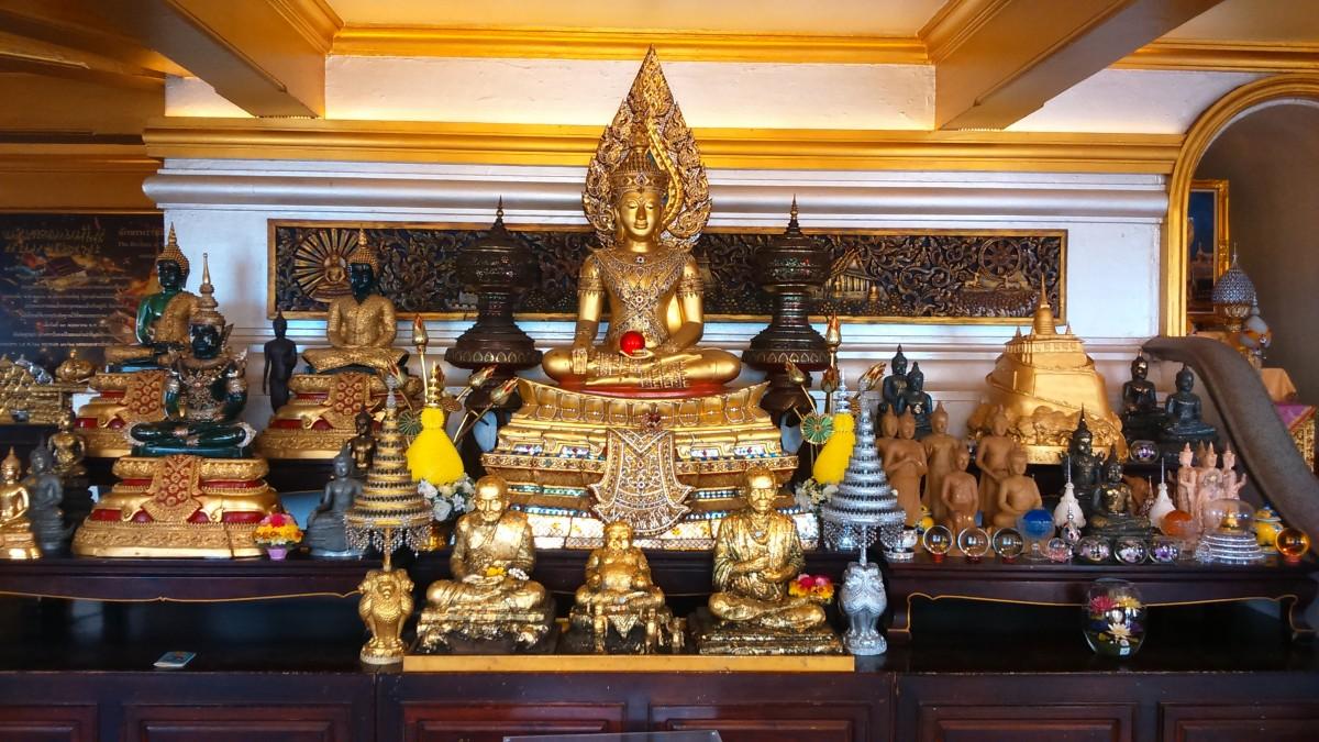 Zdjęcia: Bangkok, Azja, tajskie dewocjonalia 1, TAJLANDIA
