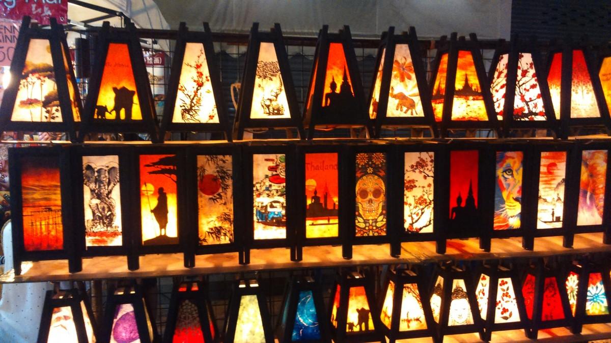Zdjęcia: chiang Mai, Azja, Night Street Market -trochę street art`u, TAJLANDIA