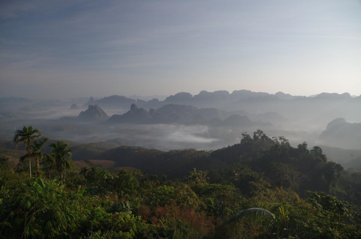 Zdjęcia: Doi Tapang Viewpoint, prowincja Chumphon, Doi Tapang Viewpoint, TAJLANDIA
