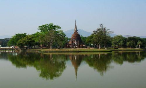 TAJLANDIA / - / Wat Mahathat / Zespół świątynny Parku Historycznego-dawny pałac królewski