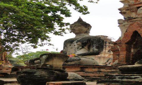 TAJLANDIA / - / Wat Mahathat - Sukhotai / Zespół świątynny Parku Historycznego-dawny pałac królewski
