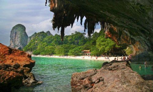 Zdjęcie TAJLANDIA / Krabi / Phra Nang / bajkowa Tajlandia