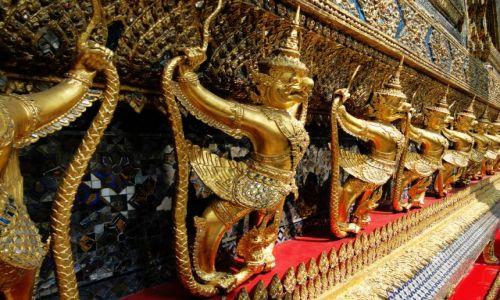 Zdjecie TAJLANDIA / - / Bangkok / Na terenie Pałacu Królewskiego