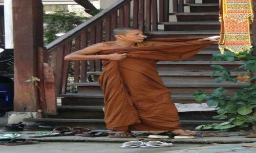Zdjecie TAJLANDIA / - / Chiang Mai / Mnich