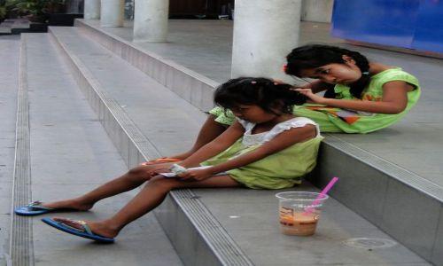 TAJLANDIA / - / Pataya / Scenka uliczna