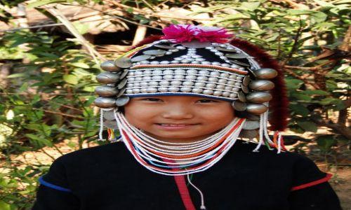 Zdjęcie TAJLANDIA / - / Północ Tajlandii / W wiosce plemion górskich