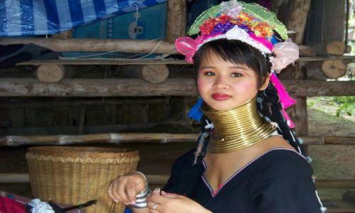 Zdjecie TAJLANDIA / Chiang Mai / Wioska Karenów / karenowie
