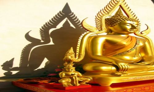 Zdjecie TAJLANDIA / Chiang Mai / Wat Chedi Luang / Duch buddyzmu..