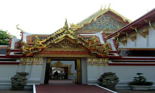 TAJLANDIA / - / Bangkok / W pałacu królewskim