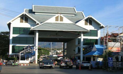 Zdjęcie TAJLANDIA / - / Północ Tajlandii / Przejście graniczne z Birmą (MYANMAR)