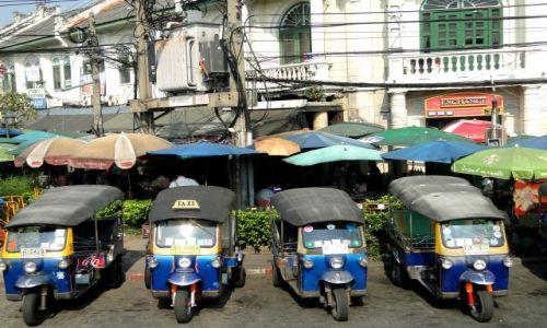Zdjecie TAJLANDIA / - / Bangkok / Tuk - tuki