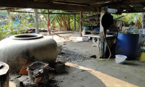 Zdjęcie TAJLANDIA / - / Północ Tajlandii / Wiejska zagroda
