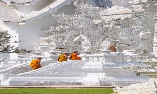 Zdjecie TAJLANDIA / - / Chiang Rai / Biała Świątynia