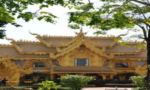 Zdjęcie TAJLANDIA / - / Chiang Rai / Złota Świątynia